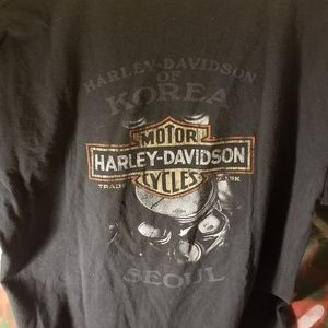 Harley Davidson Korea Shirt medium-large